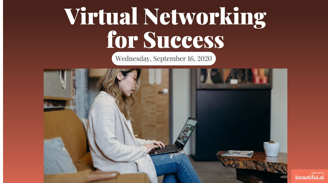 2020 0916 Virtual Networking for Success